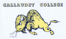 Gallaudet Postcard